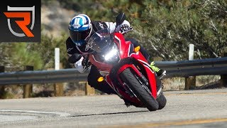 2018 Honda CBR650F and CB650F First Test Review Video | Riders Domain