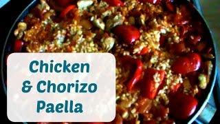 Chicken & Chorizo Paella | Recipe