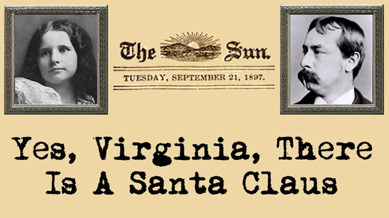 yes virginia there is a santa claus letter yes virginia there is a santa claus 25860 | maxresdefault