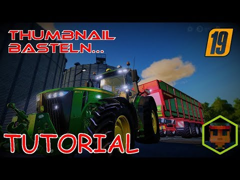 #3 | TUTORIAL | Ein THUMBNAIL mit Gimp erstellen! | So mache ich das... thumbnail