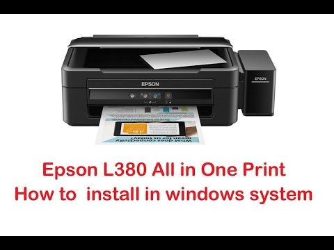 epson l380 driver download windows 10
