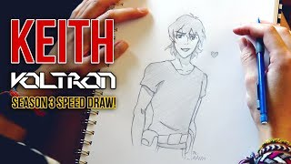 Happy Keith! (Voltron S3 Speed Draw)