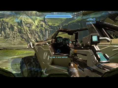 Halo The Master Chief Collection-Driving Warthog & Found Active Camo Ability No Deaths