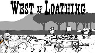 """West of Loathing Gameplay - """"THE ADVENTURES OF MUSTY SANCHEZ!!!""""  - Let"""