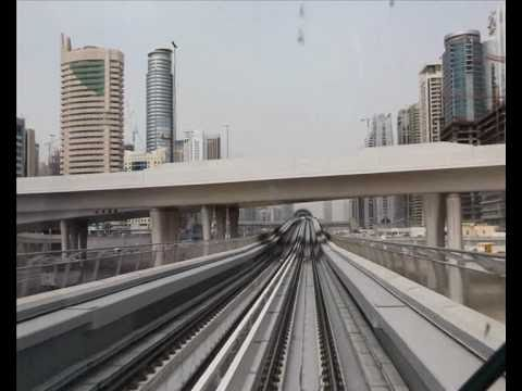 The Railway Magazine: Dubai's Driverless Red Line Metro
