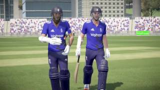 PS4 Don Bradman Cricket 17 England v New Zealand FIVE5 Gameplay