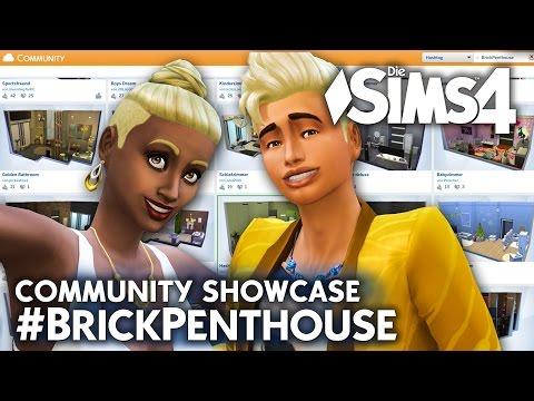 Eure Räume 💚 Die Sims 4 Galerie Showcase | Brick Penthouse