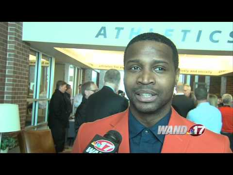 Dee Brown at Illinois AD Press Event
