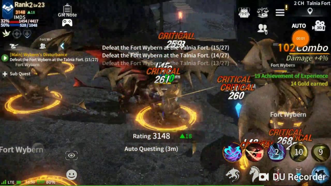 RebirthM pvp monster kills Slayer class skills IMDS