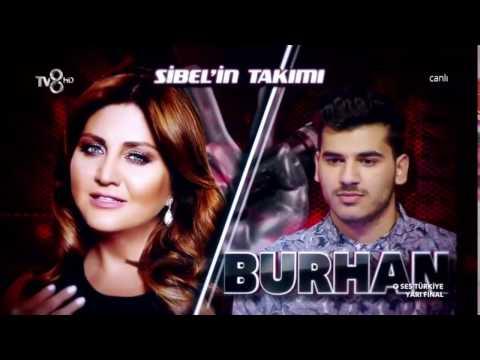 Burhan Çatılı O Ses Türkiye Yarı Final Performansı/HD/16.03.2017