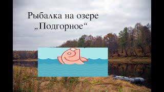 Рыбалка на летние кружки Озеро Подгорное