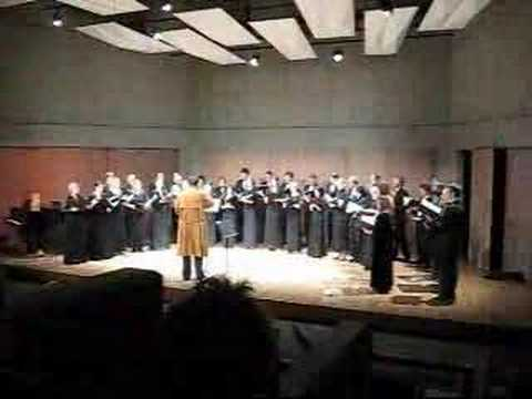 UVic Chamber Singers - Crazy Christmas Carols