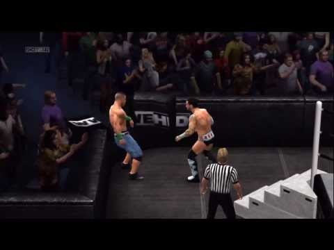 WWE 13 - I Quit Match ft. John Cena vs CM Punk!!!! Travel Video