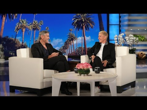 George Clooney Calls Ellen a 'Quitter' After Jennifer Aniston's Birthday Party