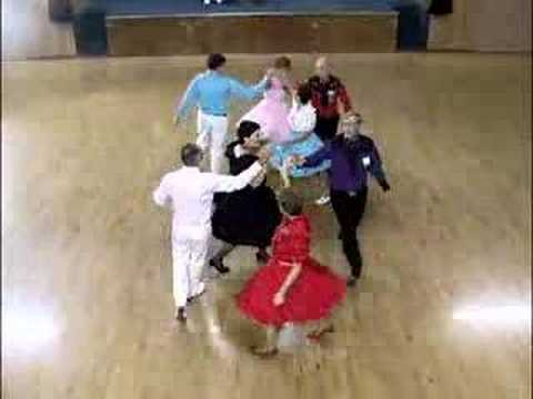 The Traveling Hoedowners Square Dancing at Whirl & Twirl