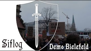 Siflog: Demonstration gegen Artikel 13 in Bielefeld