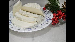 Домашний сыр, снегопад и новогоднее настроение