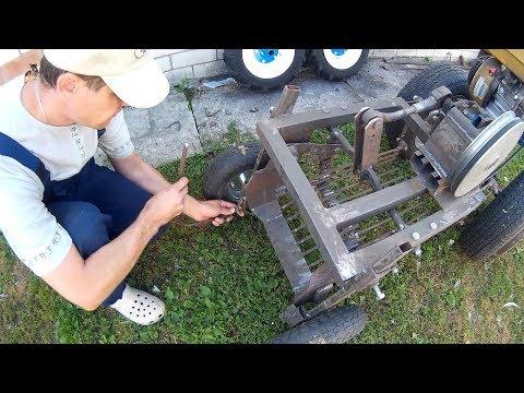 видео: Доработка картофелекопалки (испытание).  Результат испытания. Мойка мотоблока.