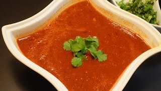 Mexican Recipe, Red Dry Chili Sauce Recipe, Mexican Salsa