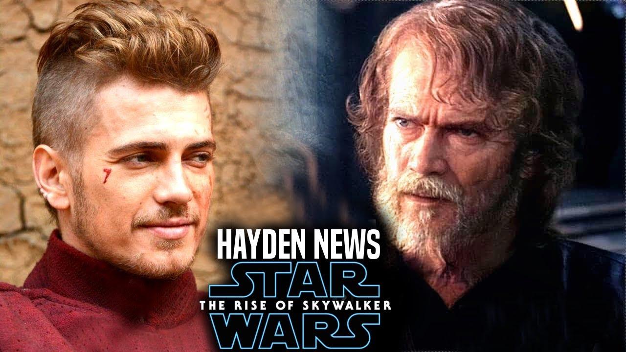 The Rise Of Skywalker Hayden Christensen News Is A Disaster Star Wars Episode 9 Youtube
