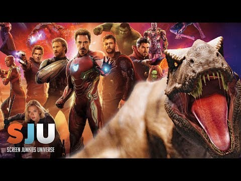 Avengers Infinity War Overtakes Jurassic World - SJU