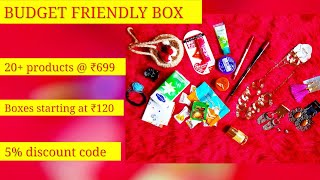 *New* Budget Friendly Box Nov 2017 | Personalized | starting at ₹120 | With Discount code thumbnail