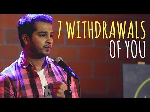 """""""7 Withdrawals Of You"""" - Jackie J Thakkar   UnErase Poetry"""