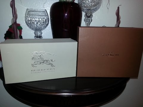Shoe Reveal - Burberry & Coach and a Gift from TheLuxuryHybrid