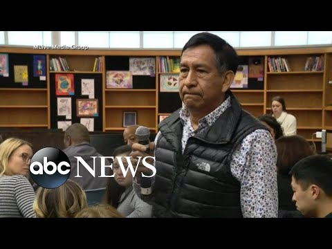 Father calls racist comment at school meeting 'a deep wound' | ABC News