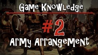 TW: Rome 2 - Game Knowledge - #2 Army Arrangement