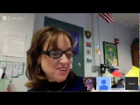 Hangout with Carissa O'Gara from Moultonborough Central Schools