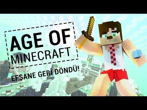 Turgut Babanla Kaleyi Düzeltiyoruz ! -3- Modlu Age of Minecraft