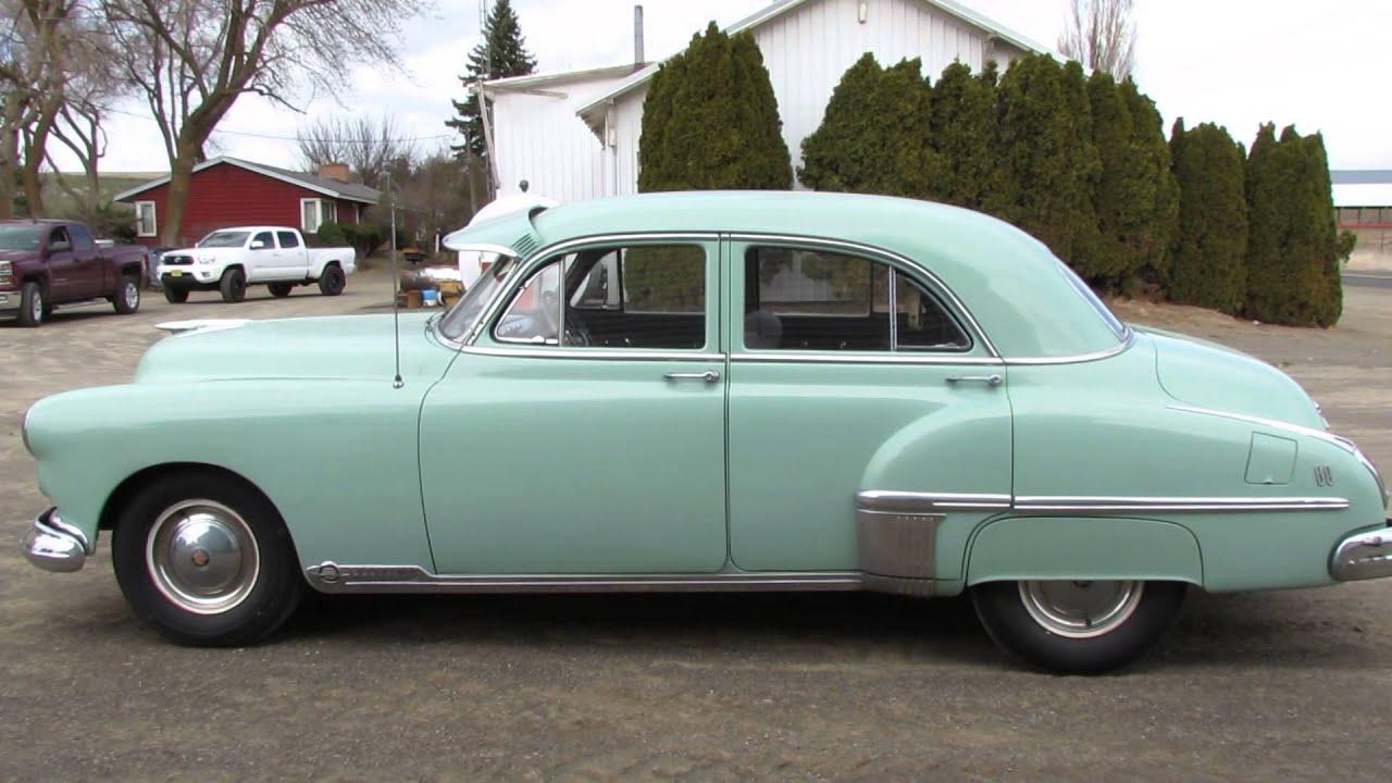 1949 oldsmobile 88 deluxe sedan youtube for 1950 oldsmobile 4 door
