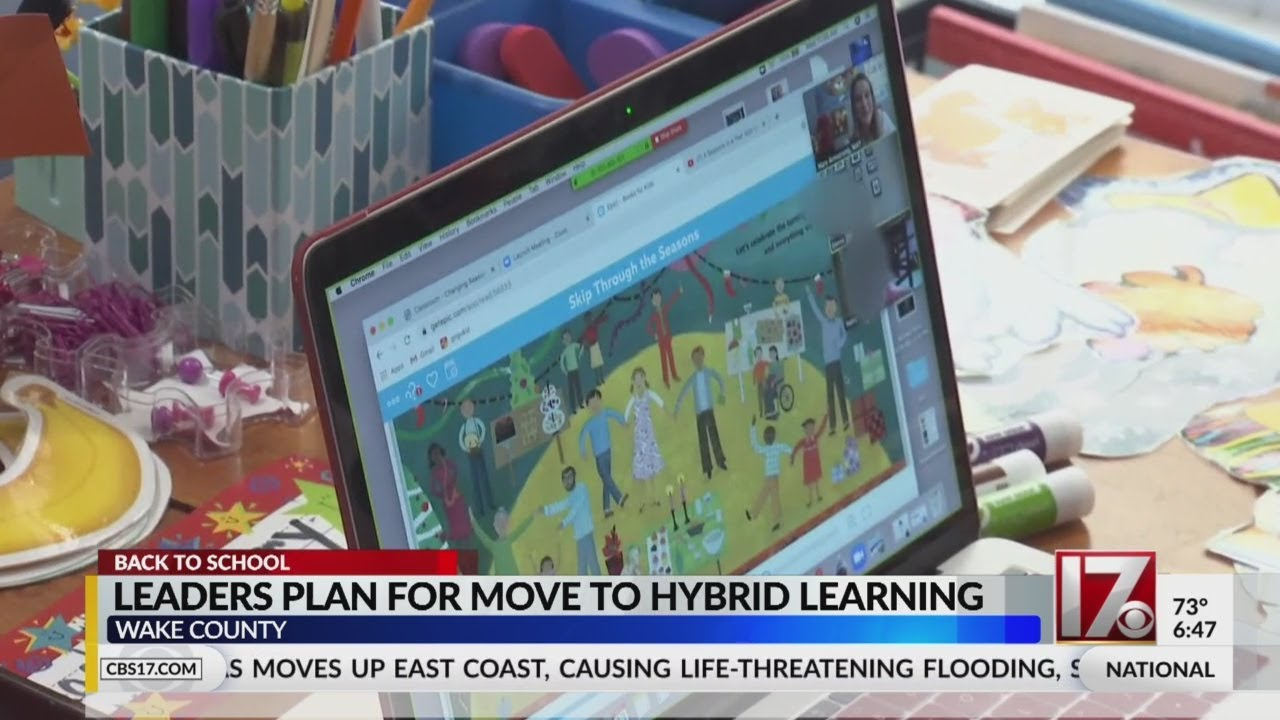 WCPSS leaders plan for move to hybrid learning