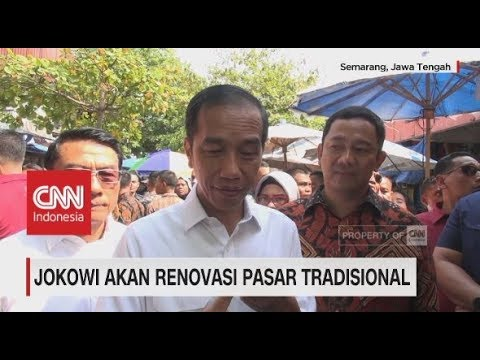 Blusukan Pasar, Jokowi Akan Renovasi Seluruh Pasar Tradisional Mp3