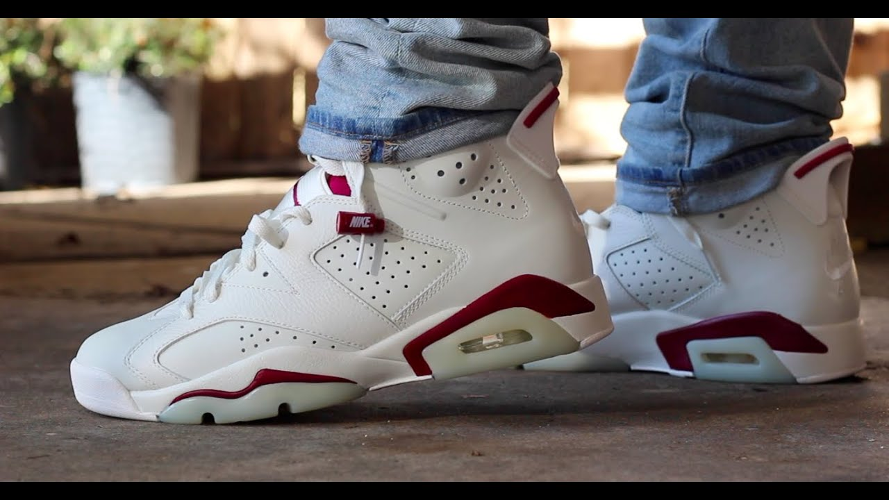 air jordan retro 6 maroon