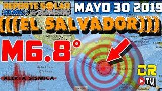 ¡PREDICCIÓN EXITOSA! TERREMOTO M6.8 EN EL SALVADOR -  EN VIVO DE CR NOTICIAS - MAYO 30 2019