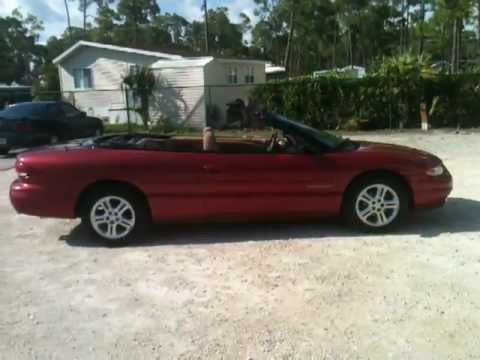 1996 chrysler sebring convertible
