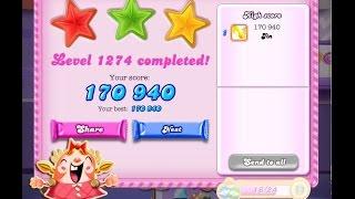 Candy Crush Saga Level 1274    ★★★   NO BOOSTER