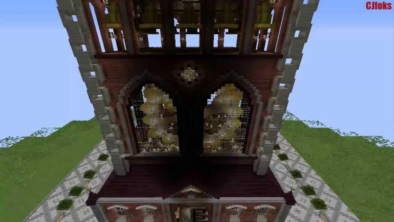 Working Clock Tower Minecraft - 0425