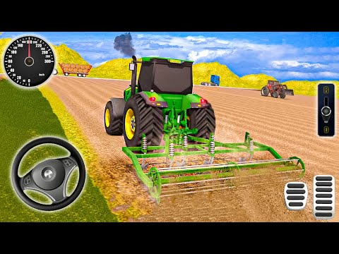 Modern Farming Simulator - Latest Tractor Farming Game - Android Gameplay