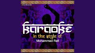 Aasman Se Aaya Farishta (Karaoke Version)