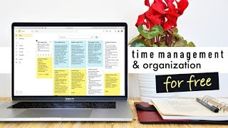 FREE COMPLETE PRODUCTIVITY System for Time Management & Organization