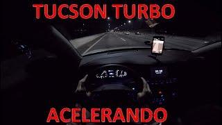 Acelerando a Hyundai New Tucson Turbo 2018 | Test Drive Onboard POV GoPro