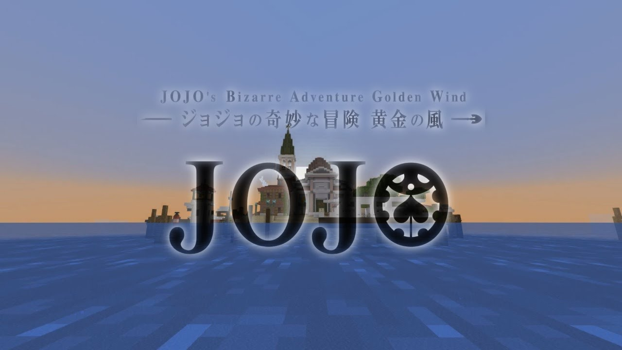 JoJo Part 5: Golden Wind - OP 2 GER - Parody Minecraft