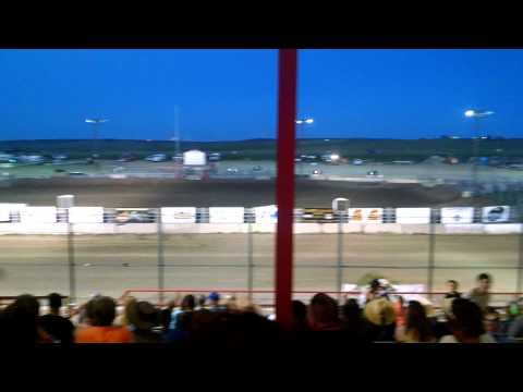 Dwarf car's at El Paso County Speedway