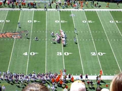 First points by the 2009 Broncos