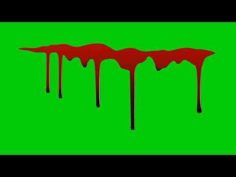 Green screen blood and blood hand effect|| green screen blood overlay ||technical bloch 786