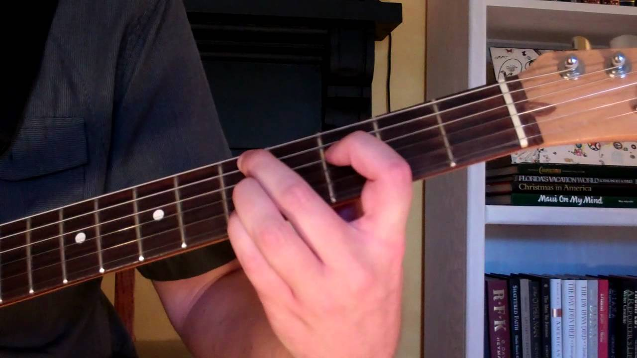 How To Play The Dm9 Chord On Guitar D Minor Ninth 9th Youtube