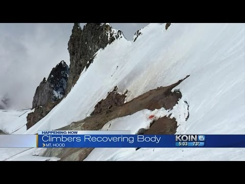 Climber dies on Mt. Hood after 400-foot fall